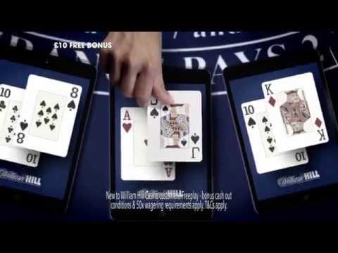 £10 Sign up Bonus on William Hill Casino!
