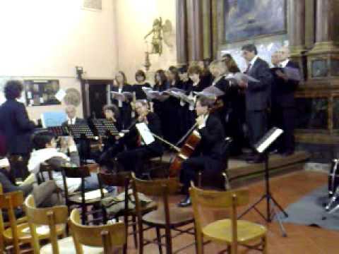 Coro della Scuola Svizzera di Roma - Concerto di Rieti - Mozart canta Metastasio