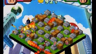 Saturn Bomberman Fight Story Mode