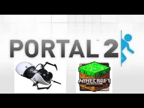MCPE: Portal Gun Mod!