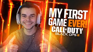 BLACK OPS 3 - MY FIRST GAME EVER! (Black Ops 3 Multiplayer)