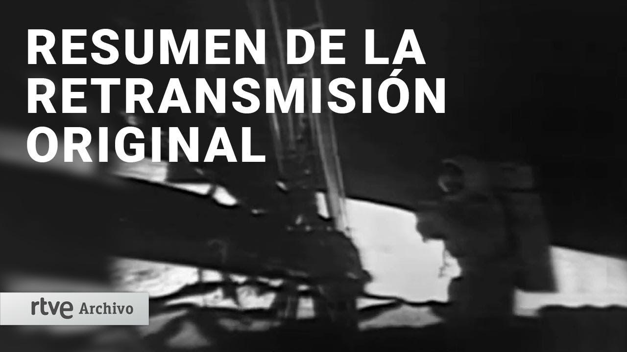 Llegada a la Luna: Resumen de la retransmisión ORIGINAL de 1969 con Jesús Hermida | Archivo RTVE