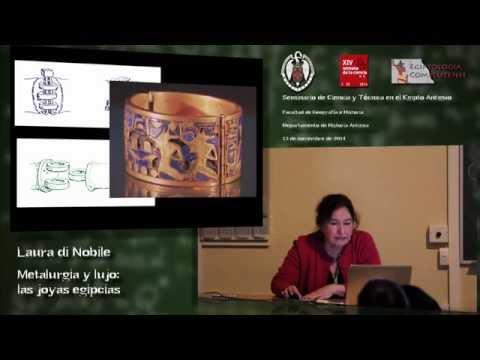 Laura di Nobile. Metalurgia y lujo: las joyas egipcias
