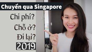 #6: Cần biết gì khi qua SINGAPORE 2019 🧐Chỗ ở, chi phí ? || Cuộc sống Singapore || Vy Huynh