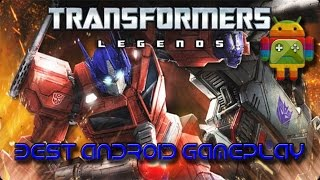 видео Скачать Transformers Legends для Андроид бесплатно