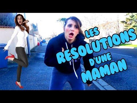 Les 10 bonnes résolutions d'une maman! - ANGIE LA CRAZY SÉRIE