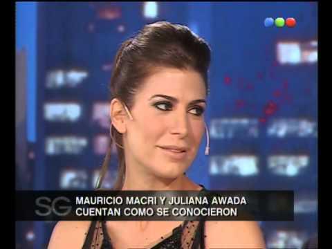 La historia de amor de Mauricio Macri y Juliana Awada