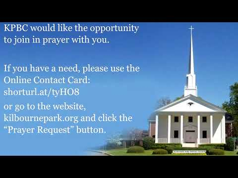 Kilbourne Park Baptist Church Live Stream