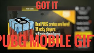 😍Got Real PUBG Crate || What