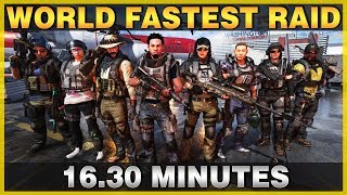 The Division 2 | World Record Raid Run 16.30 min