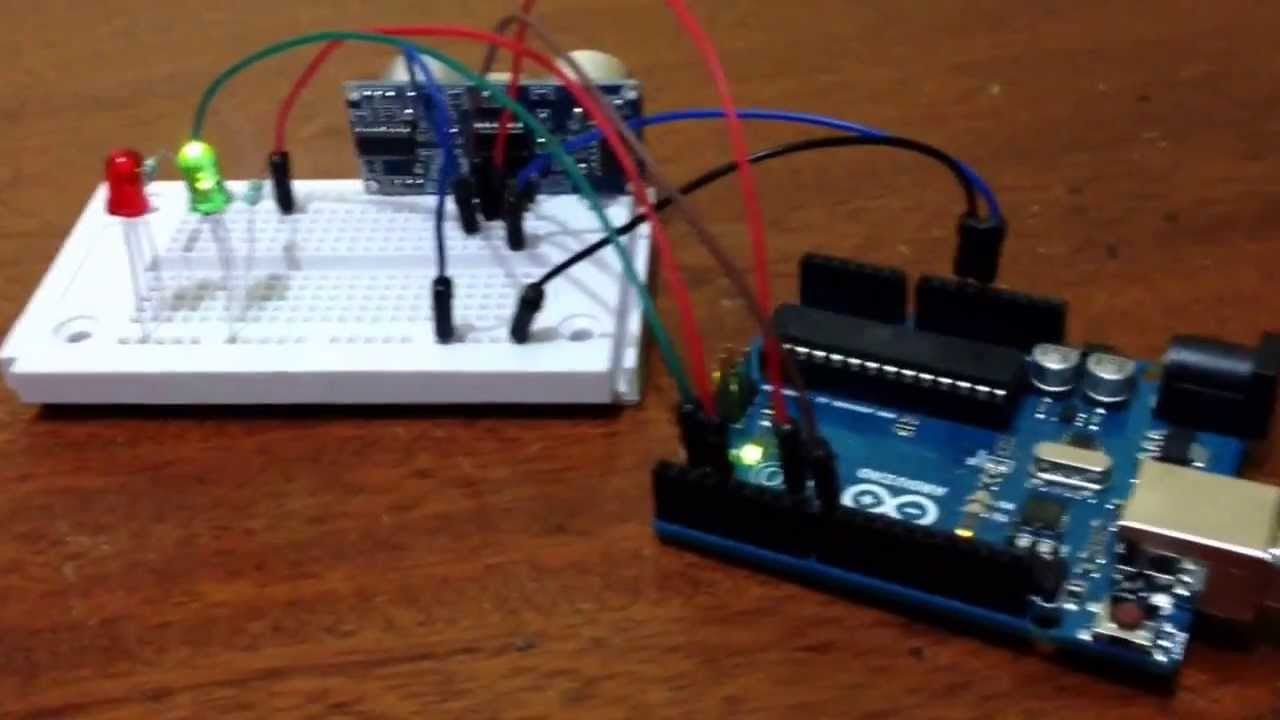 Sensor ultrasonico hc sr conectado a arduino uno youtube