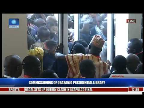 Commissioning Of Obasanjo Presidential Library Pt 1