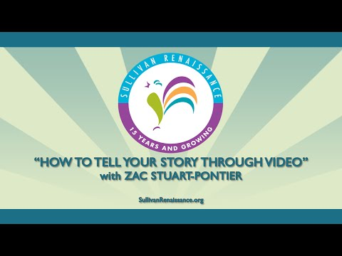 "2015 Spring Forum Workshop - ""How to Tell Your Story through"