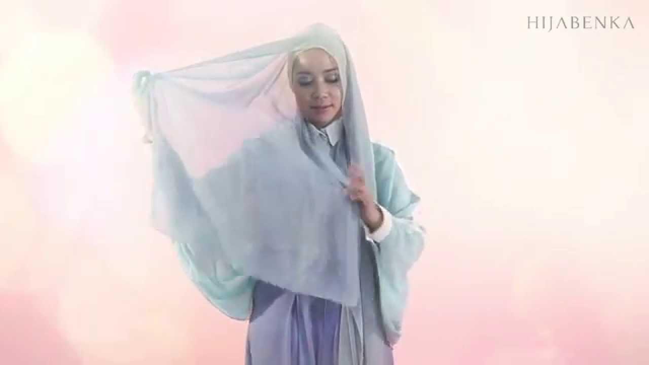 Tutorial Hijab Day To Night By Hijabenkacom YouTube