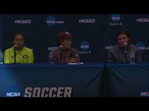 NCAA FINAL FOUR: UChicago Women's Soccer Semifinal Press Conference