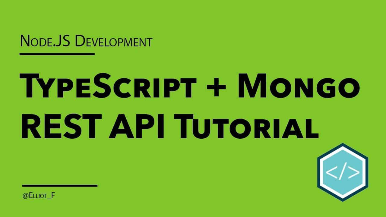 Building a TypeScript REST API with MongoDB