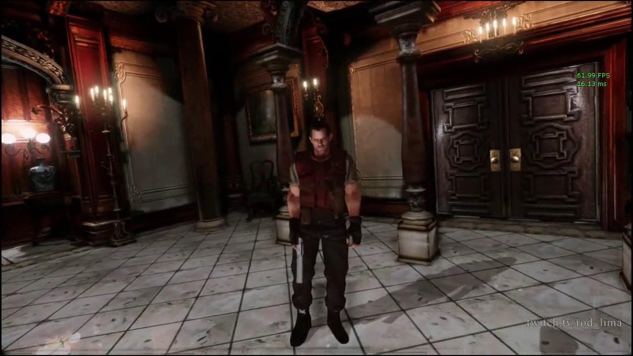 Hey person, see the first Resident Evil in first-person