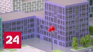 На ВДНХ показали новые квартиры для будущих переселенцев