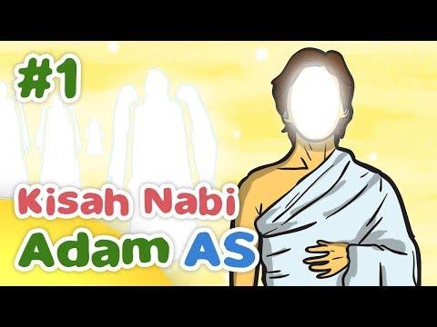 Kisah Nabi Adam AS Awal Penciptaan Makhluk Allah SWT - Kartun Anak Muslim Indonesia