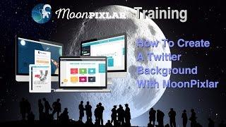 إنشاء تويتر BG مع MoonPixlar - MoonPixlar التدريب