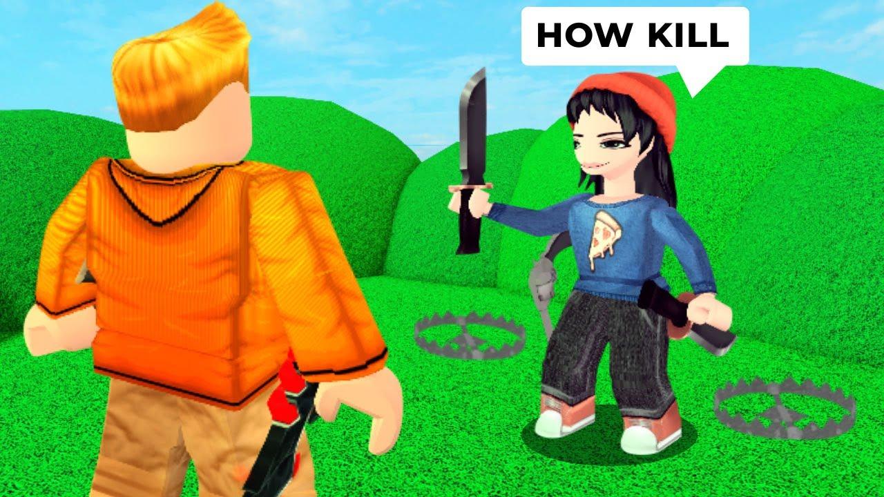 Murder Mystery 2 but I make noobs MURDERER..