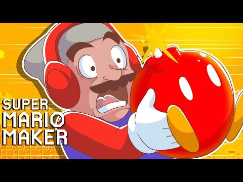THIS LEVEL ALMOST ENDED MY CAREER!! [SUPER MARIO MAKER] [#124]