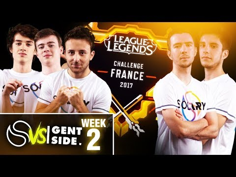SOLARY VS GENTSIDE - WEEK 2 - Challenge France 2017 #8