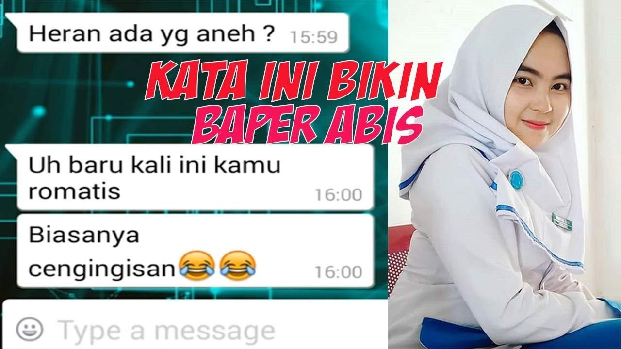 Kata Kata Contoh Chat Gombal Romantis Whatsapp PDKT