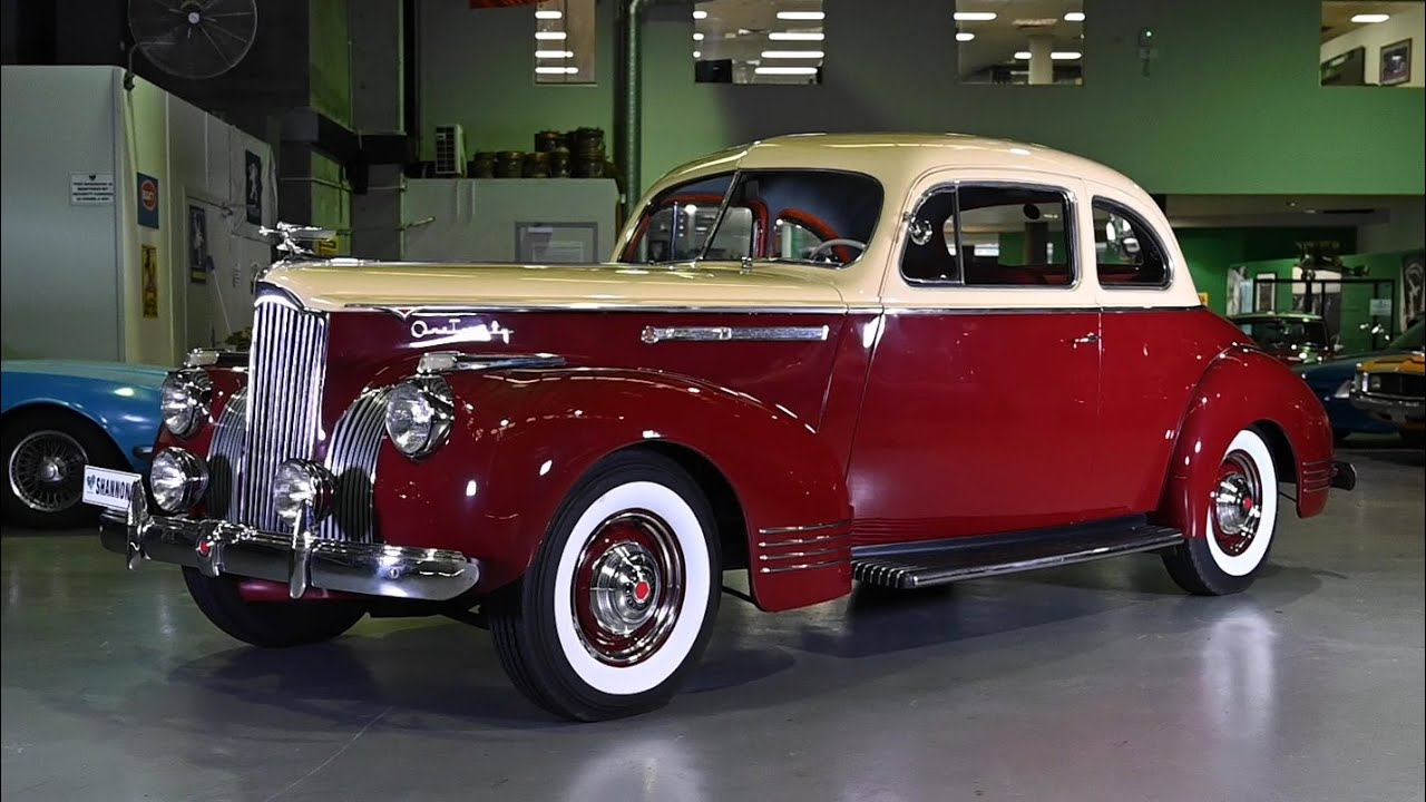1941 Packard 120 Club Coupe (LHD) - 2020 Shannons Sydney Summer Classic Auction