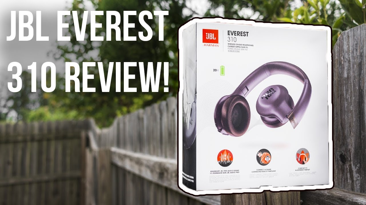 08e09693dae My New Headphones! JBL Everest 310 Review and Unboxing | AHFRICKIN ...