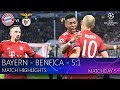 Bayern - Benfica - 5:1. Match highlights. MD-5 (27.11.2018)