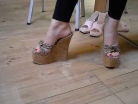 Cork Wedges Feet