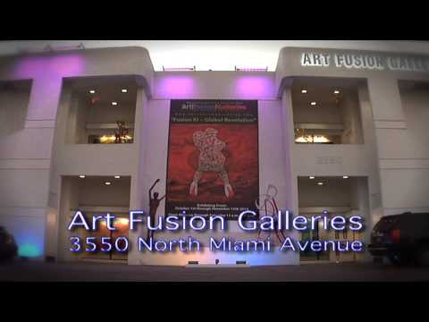 Welcome To  Wynwood's Art Fusion Galleries