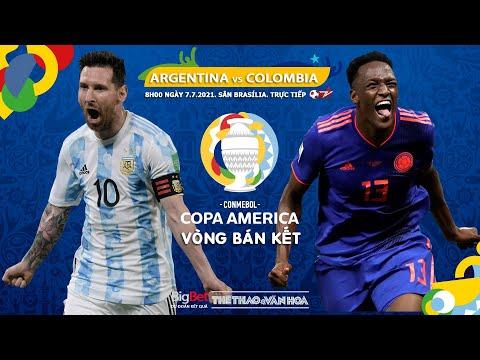 [SOI KÈO NHÀ CÁI] Argentina vs Colombia. Trực tiếp bóng đá bán kết Copa America 2021 (8h00 ngày 7/7)