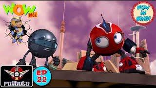 Vir presents RollBots | Episode 22 | Ajax | Action | Cartoon for Children | WowKidz