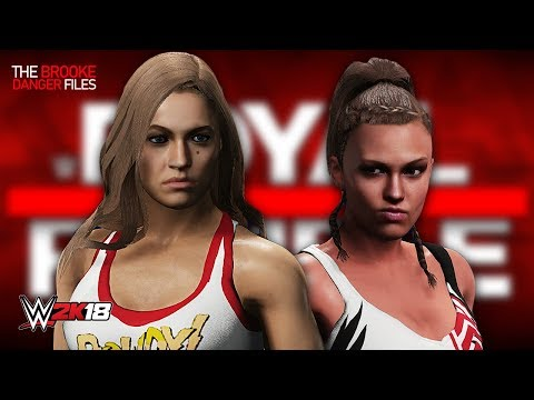 WWE 2K18 - RONDA ROUSEY vs BROOKE DANGER (Women's Championship | Brooke Danger Files Finale)