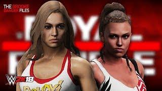 WWE 2K18 - RONDA ROUSEY vs BROOKE DANGER (Women's Championship | Brooke Danger Files Finale)