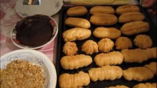 Рецепт заварных пирожных эклеров или как просто приготовить заварнушки