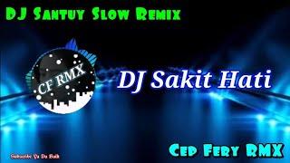 Download DJ Sakit Hati ( Meggy Z ) || Remix Dangdut Slow Bass || CF RMX