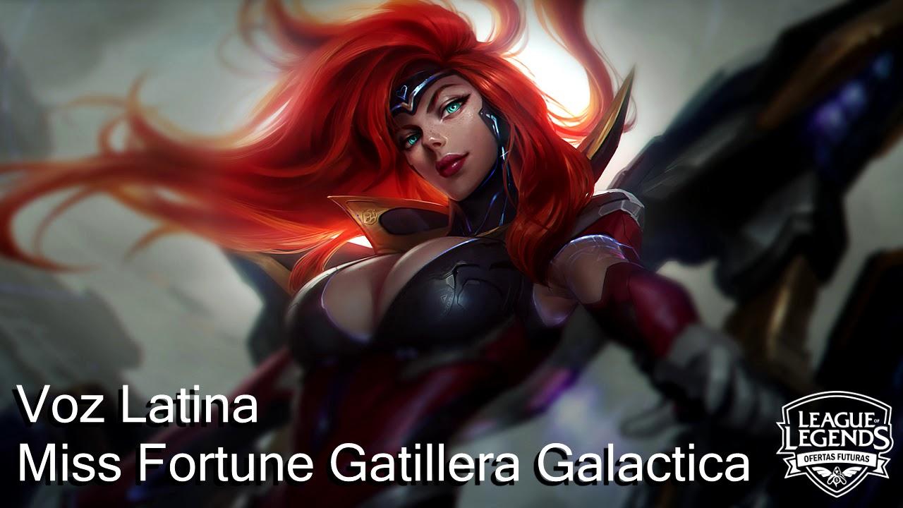 miss fortune gatillera galactica