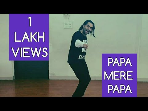 Easy Dance Steps For Small Kids | Papa Mere Papa | Rahul Shetty | Rising Dance Classes 🙂🙂🙂🙂🙂