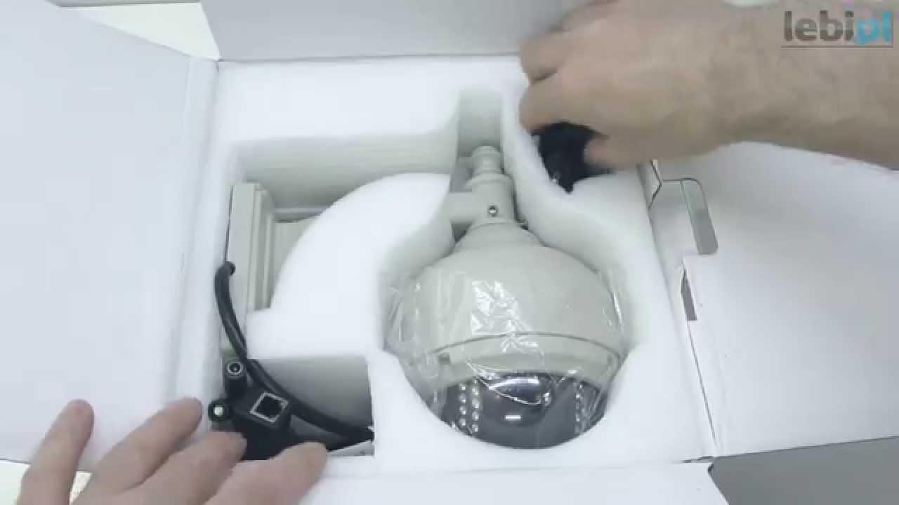 Zewnętrzna kamera IP z zoomem Wanscam AJ-C0WA-C0D8 - YouTube