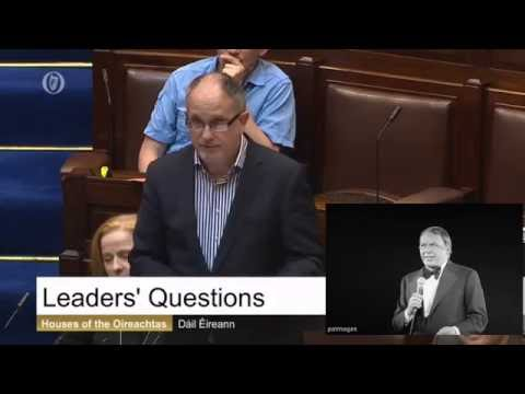 Mick Barry's Musical Moment In The Dáil