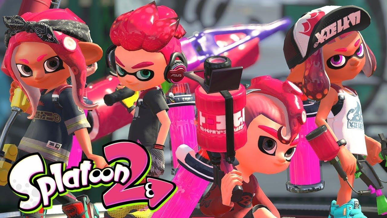 No Splatoon 3 Nintendo Switch More Octoling Hairstyles Qa Youtube