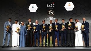 Juventus awarded at the Globe Soccer Awards in Dubai
