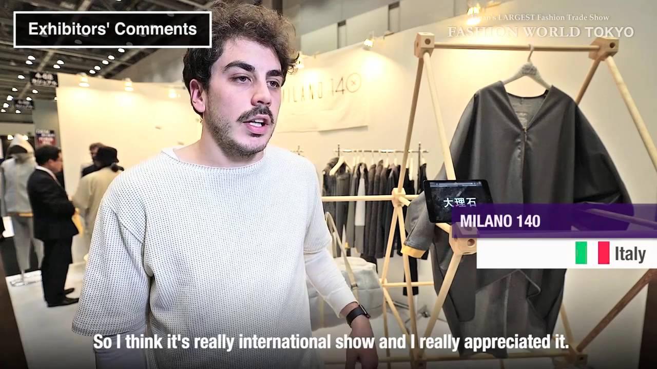 Fashion World Tokyo 2016 Show Introduction Video English Youtube
