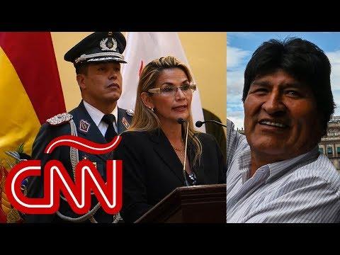 Nuevo mando militar y gabinete en Bolivia; Evo Morales dice que volvería si el pueblo lo pide