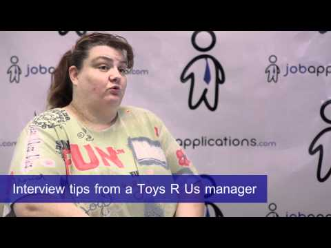 Interview Tips from a Toys R Us Hiring Manager
