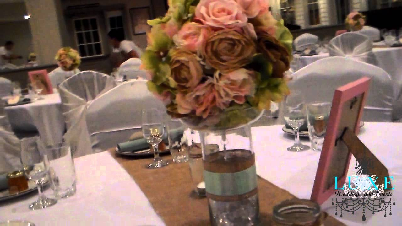 2013 Light Pink and Green Wedding Decor by LUXE Weddings and Events ...