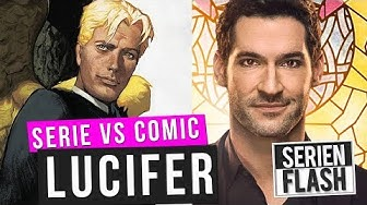 Lucifer: So ist er in der Comic Vorlage | Comic VS Serie | SerienFlash